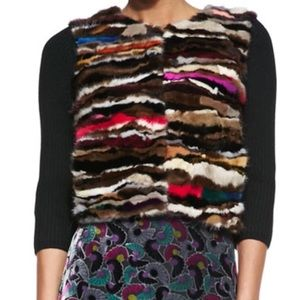 DVF Dyed Mink Sweater